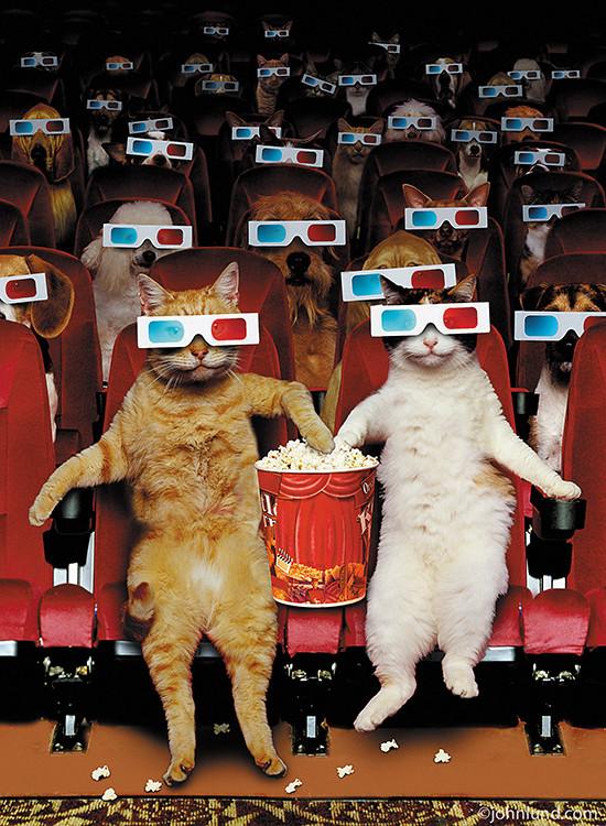Кинотеатр картинки смешные