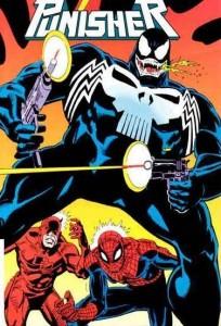 Y si... Venom hubiera poseido a Punisher?
