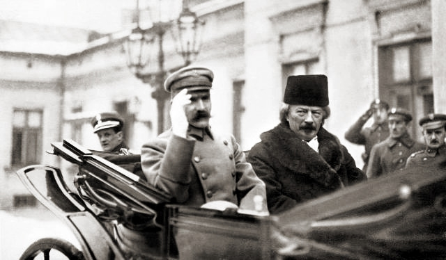 Пилсудский и Падеревский 1919 г.