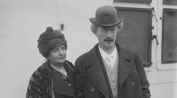 И. Я. Падеревский с супругой