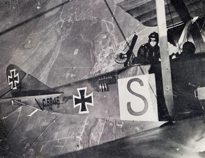 Самолет, захваченный в Лавице