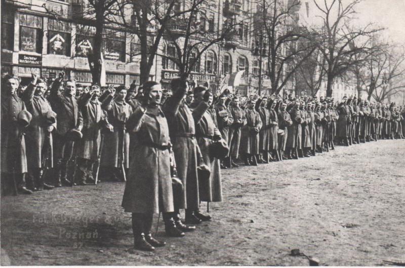Торжественная присяга 1. полка Стрелков Великопольских