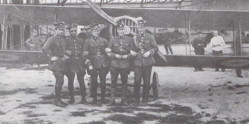 Пилоты 1. эскадрильи
