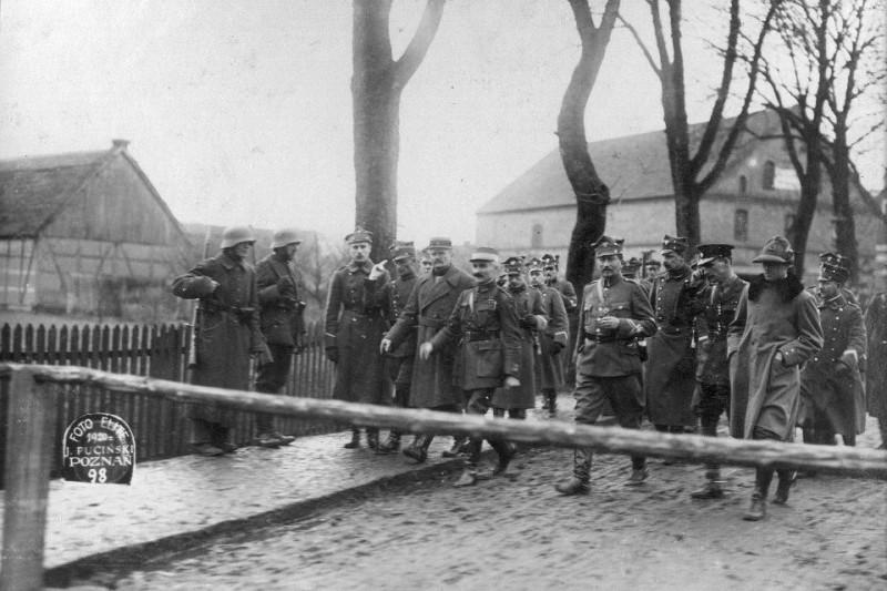 Посещение генералом Довбор-Мусницким и Межсоюзнической Миссией демаркационной линии