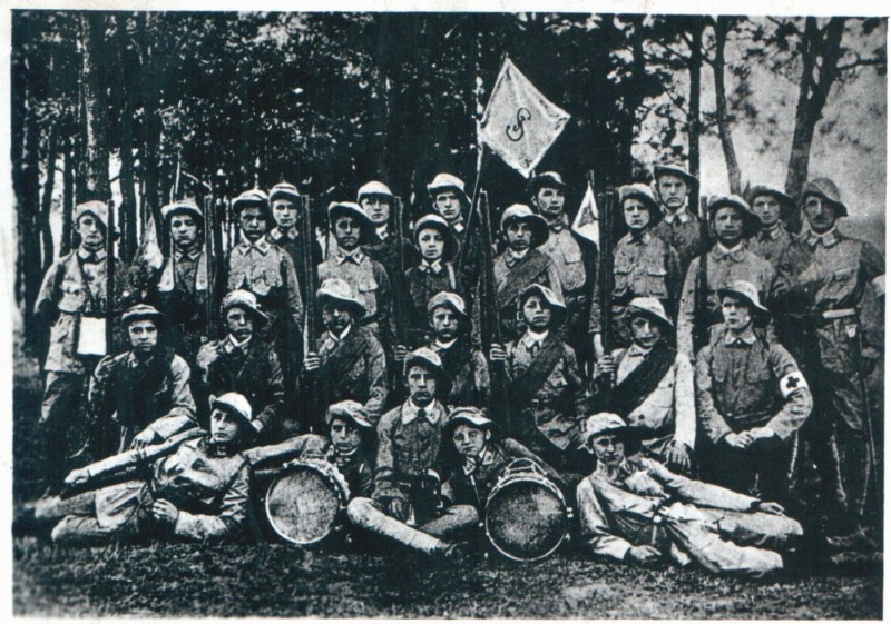 Польские скауты