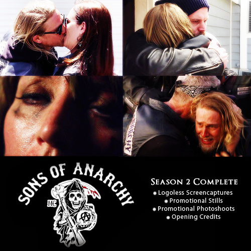 Sons Of Anarchy Season 2 Complete Gallery (Bluray