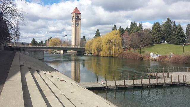 Spokane-Clock Tower