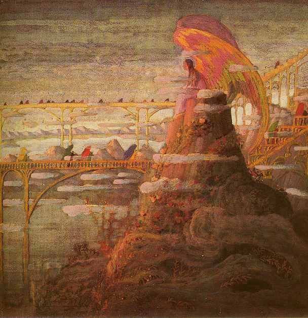 Mikalojus Konstantinas Ciurlionis Angelas.Preliudas 1908