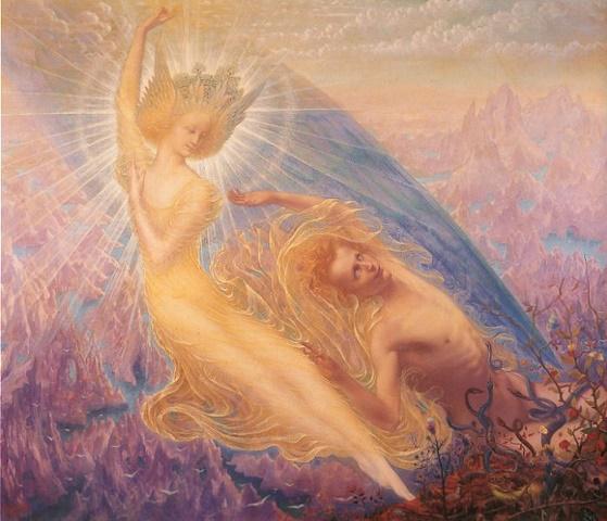 Jean Deville L'ange des splendeurs 1894