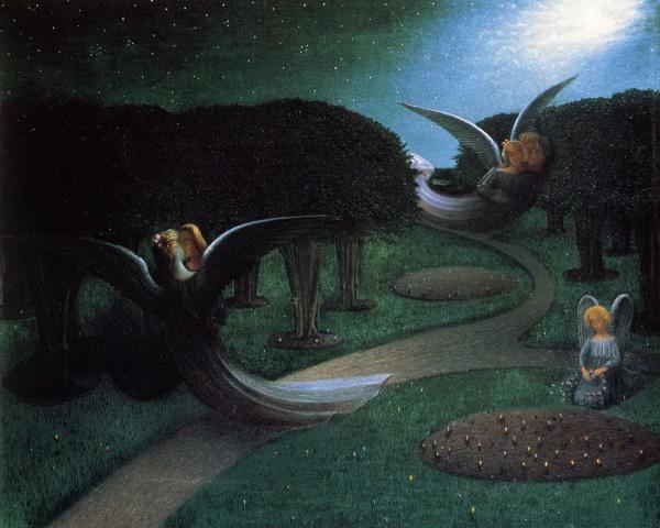 william degouve de nuncques les anges de la nuit angels of the night 1894