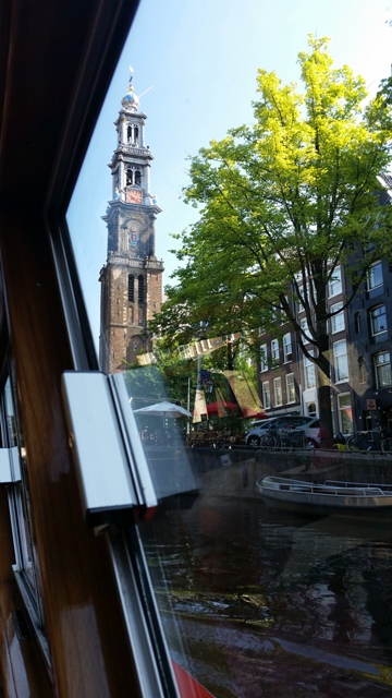 20140805_Westerkerk from Canal Boat