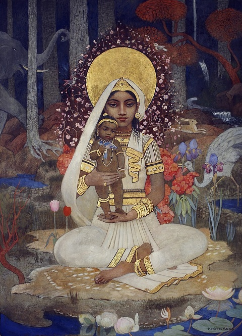 Marianne Stokes Devaki-Mother-of-Krishna