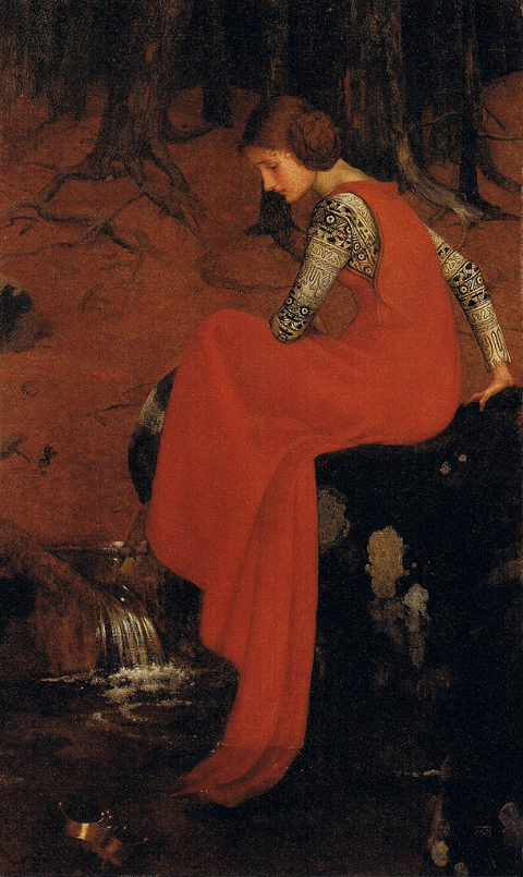 Marianne Stokes Melisande 1895
