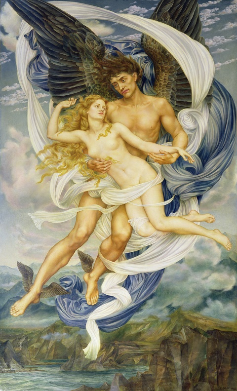 Evelyn De Morgan boreas_and_oreithyia 1896