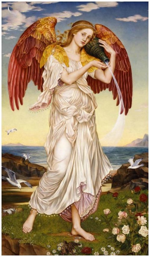 Evelyn De Morgan Eos 1895