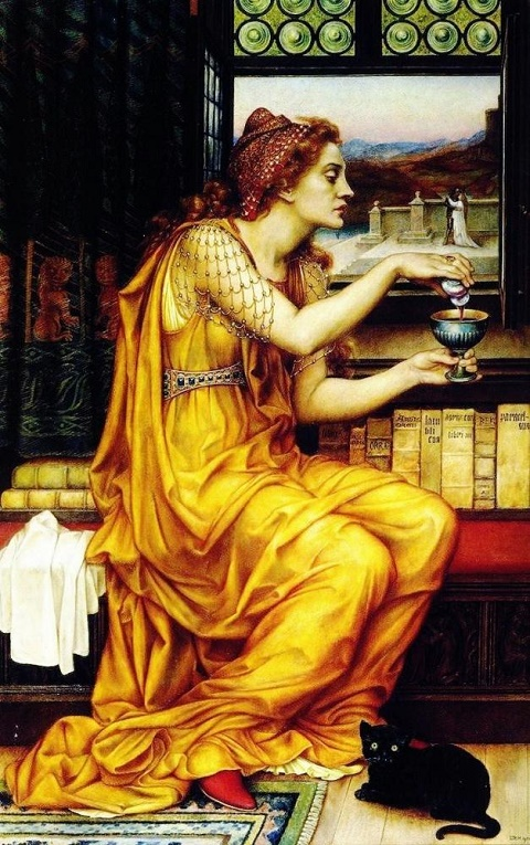 Evelyn De Morgan Love Potion
