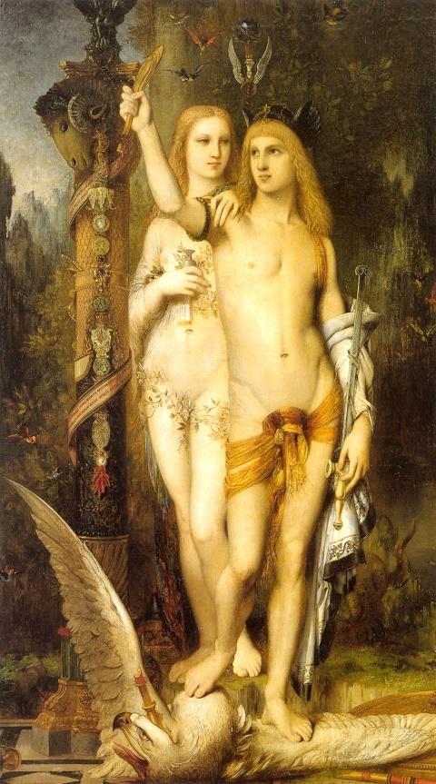 Medea - Gustave Moreau Jason_et_Médée 1865