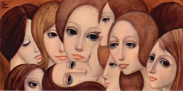 Margaret Keane Faces