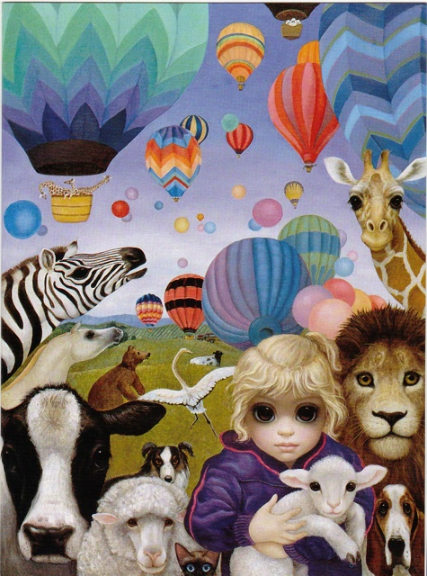 Margaret Keane Who Says Animals Can't Fly