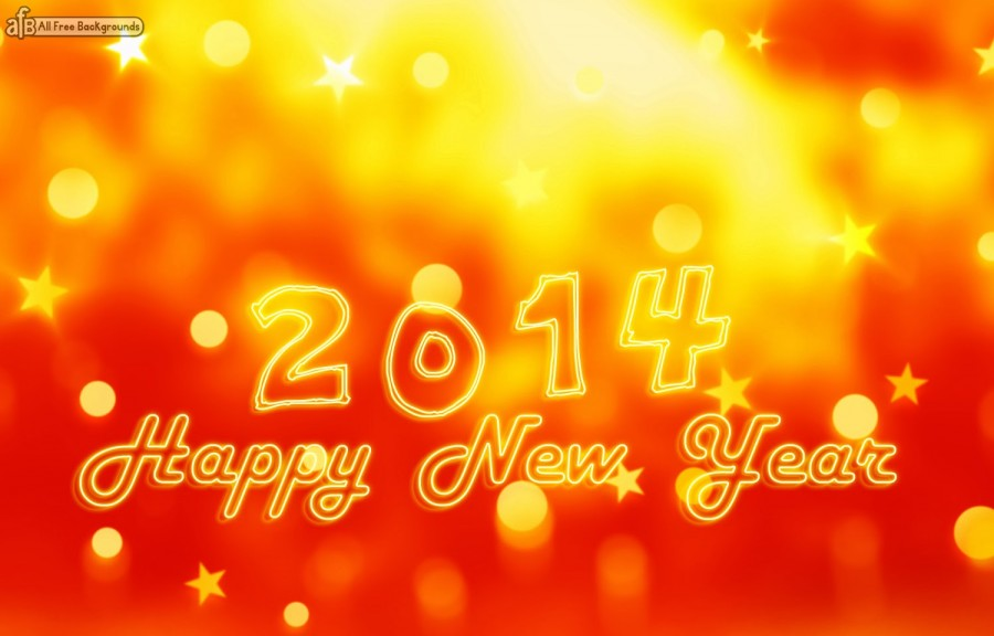 Happy-New-Year-2014-Wallpaper-Orange-Light-www.allfreebackgrounds.blogspot.com_