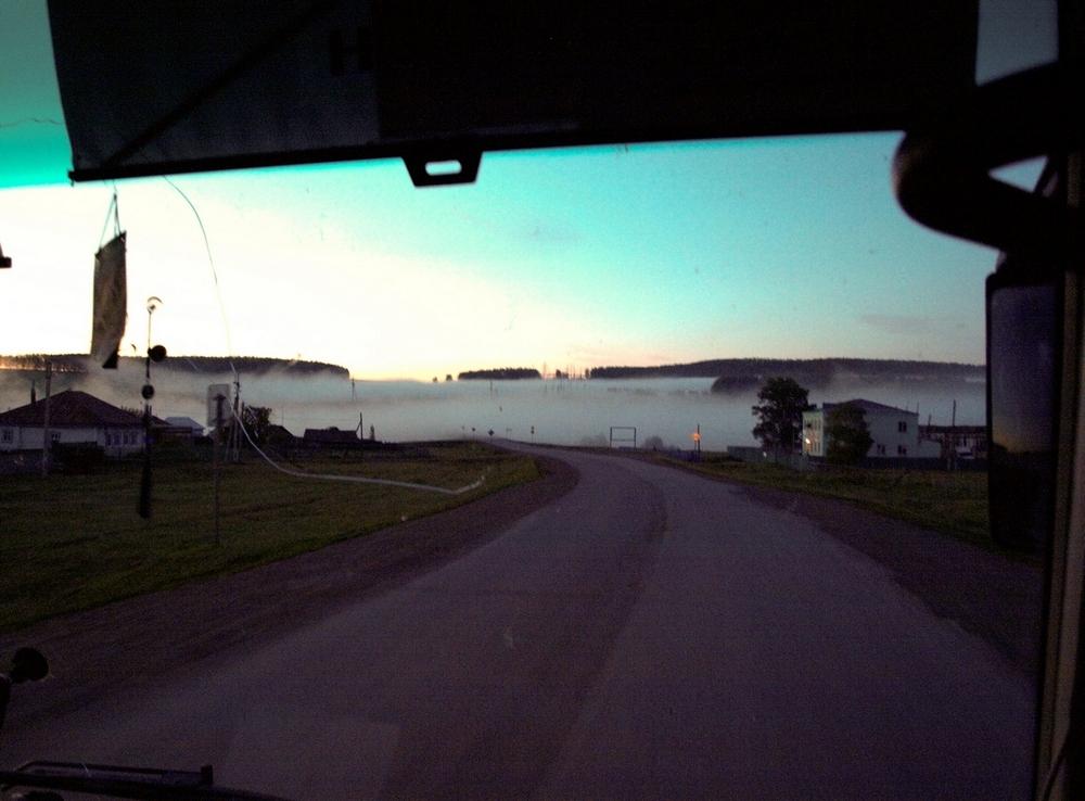 Туман в башкирском селе-1 июня 15, 2013 Raouf