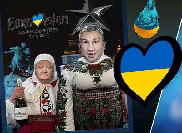 """""""Евровидение-2017"""" и главного политика Украины начали высмеивать и в Италии"""