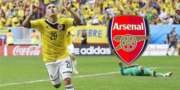Arsenal-Colombia-Quintero