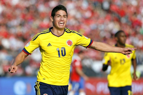 James Rodriguez Colombia