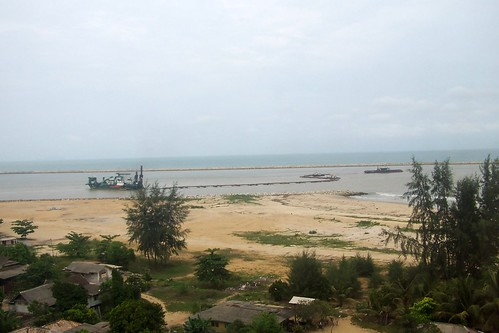 Pandangan pagi dari Grand Continental Kuala Terengganu