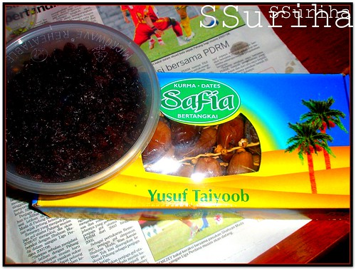 Kurma Safia Yusuf Taiyoob 23 Ramadhan