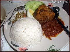 Nasi Lemak Kopitiam Bangi sebelum pergi Penang