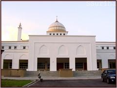 Singgah solat Masjid baru Transkrian Nibong Tebal