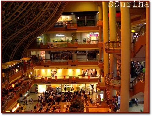The Mall usai berPesta Buku Kuala Lumpur