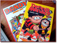 The Dandy & Dennis the Menace nostalgia masa kecil rembatan pesta buku The Mall