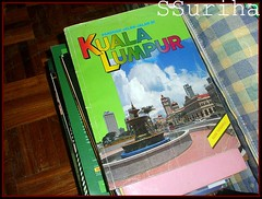 Peta lama Kuala Lumpur sepuluh tahun lalu