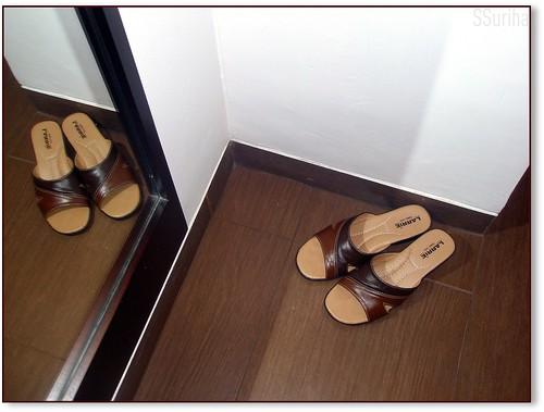 Petang sesampai Hotel Santika Bogor