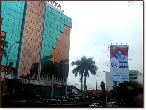 Susuran lalu dari Jakarta pergi Bogor