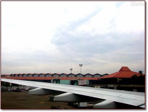 Sesampai Bandara Soekarno Hatta