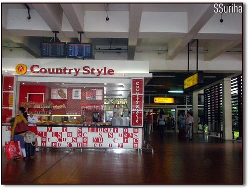 Kioks donat Bandara Soekarno Hatta