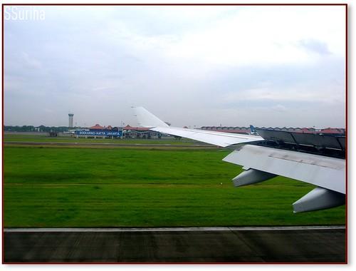 Sesampai Soekarno Hatta Airport