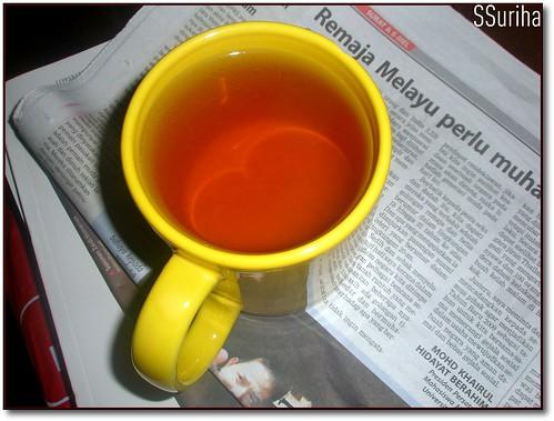 Twinings Lemon Tea bawa terbang dari Melbourne Australia