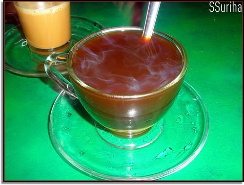 Nescafe panas kaw Gunung Semanggol