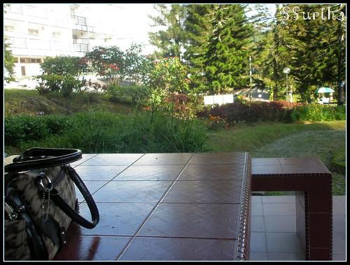 Menanti menunggu santai hijau Fraser Hill menghadap pandang Shahzan