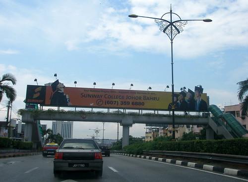 Jalan-Jalan Johor Bahru petang 3 Shawal