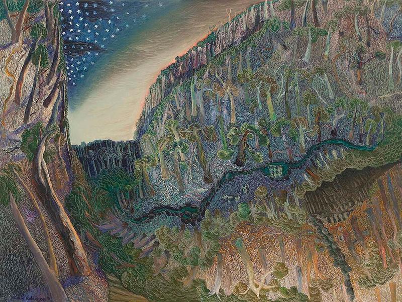 Уильям Робинсон, Дневной и ночной пейзаж 1991