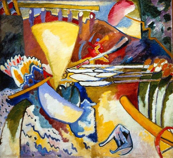 Improvvisazione-11-Kandinsky 1910
