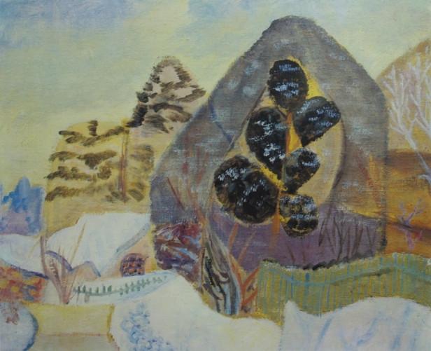 стерлигов зим пейзаж 1950е