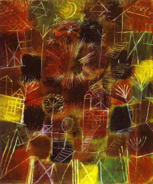 Paul Klee Cosmic composition 1919