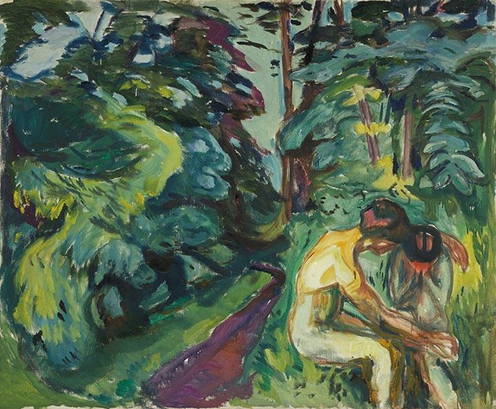 Мунк Утешение в лесу 1924-25