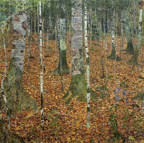 климт березняк 1903